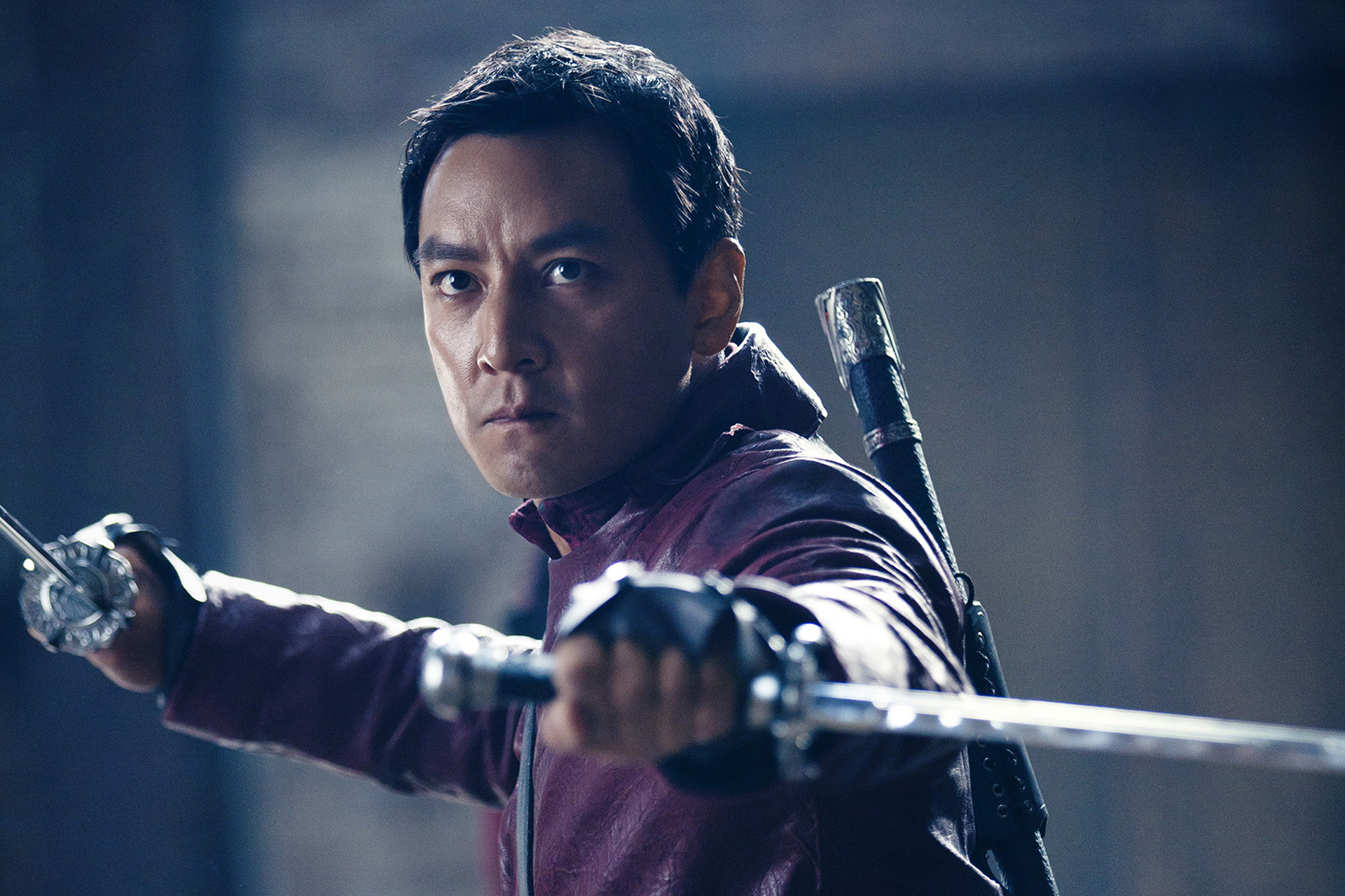 Daniel Wu as Sunny - Into the Badlands _ Season 1, Episode 1 - Photo Credit: James Dimmock/AMC