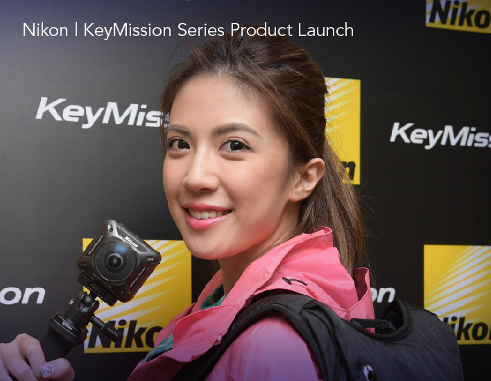 project thumbnail (Nikon KeyMission Series Product Launch) eng
